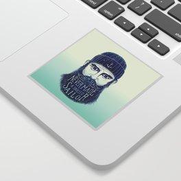 CALM SEAS NEVER MADE A SKILLED (Blue) Sticker