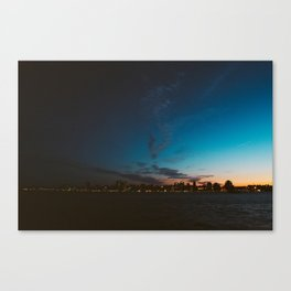 Halifax, Nova Scotia, Canada, skyline at sunset Canvas Print