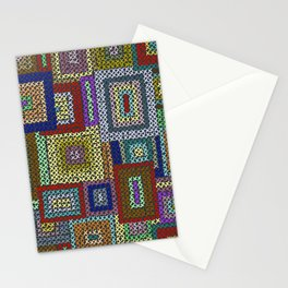 Needlepoint Squares Stationery Cards
