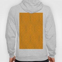 shape orange pattern Hoody