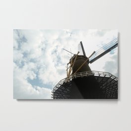 mill Metal Print