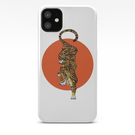 The Traditional Tiger iPhone Case