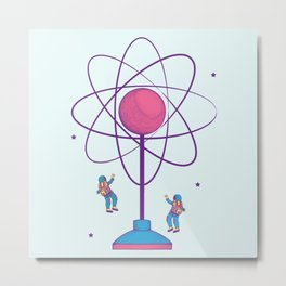 The Science of Play Metal Print