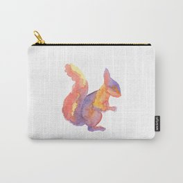 Les Animaux: Red Squirrel Carry-All Pouch