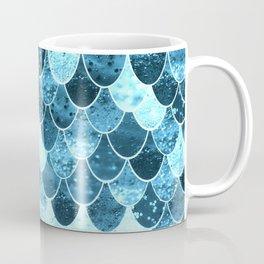 REALLY MERMAID SILVER BLUE Coffee Mug