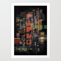 lost in translation Art Prints featuring Lost in Translation by Livio Bernardo