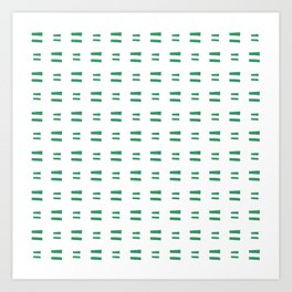 flag of andalusia Art Print