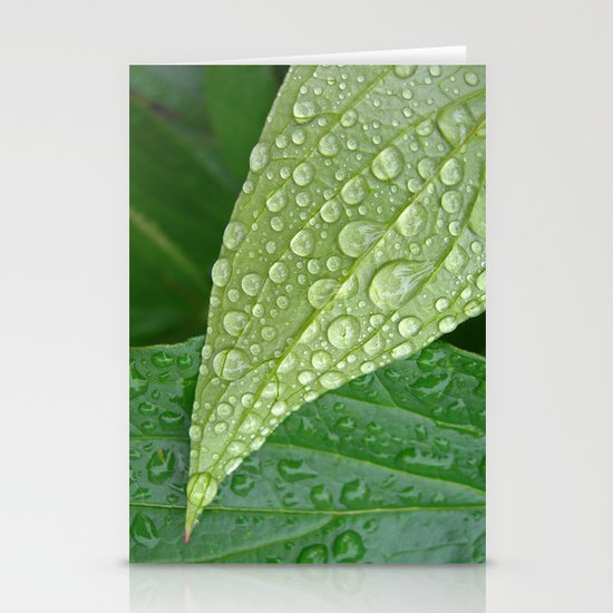 rainy drops I Stationery Cards