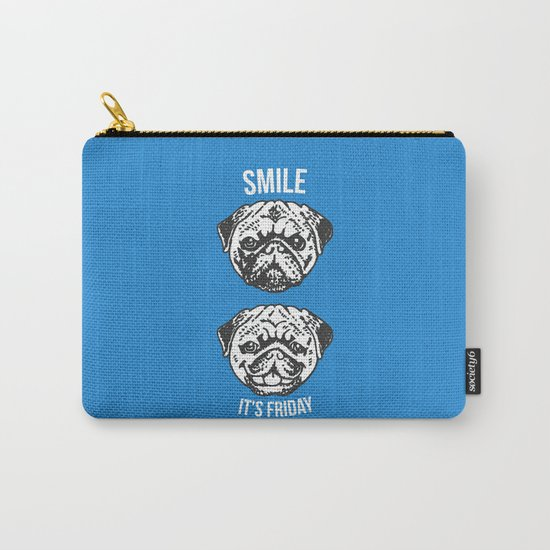 Smile It's Friday! Carry-All Pouch