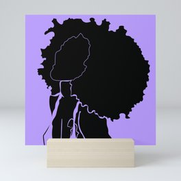 purple Mini Art Print