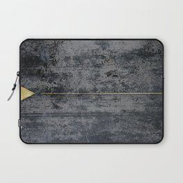 gOld triangle Laptop Sleeve