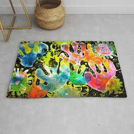 colourburst  Rug