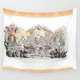 Thumbelina's house! Wall Tapestry