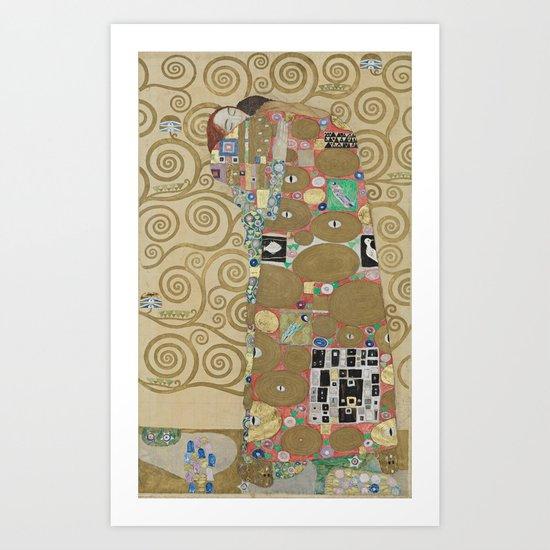 Gustav Klimt - The Embrace by constantchaos