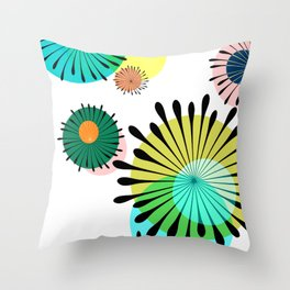 My Floral Dream Throw Pillow