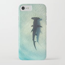 Shark on the Moon iPhone Case