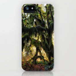 Hoh, Moss Covered Maple iPhone Case