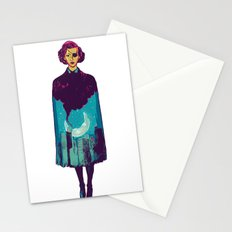 The night is yours  Stationery Cards