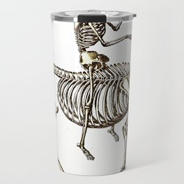 Horse Skeleton & Rider Travel Mug