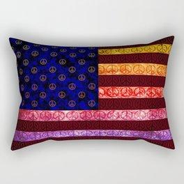 50 SHADES OF PEACE - 079 Rectangular Pillow