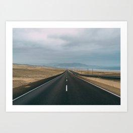 Road to Lima Art Print