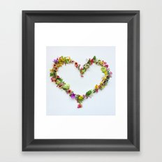 Heart 2 Framed Art Print