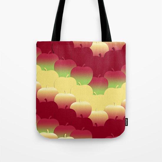 Apple Ombre Tote Bag