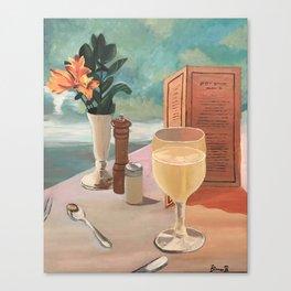 champagne skies Canvas Print