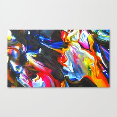 cellophane flowers Canvas Print