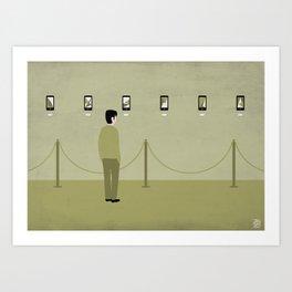 A smart gallery Art Print