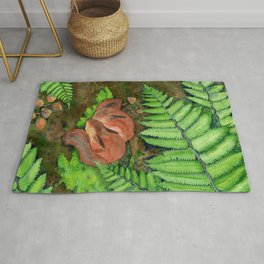 Sleep Under a Fern Rug