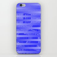 glitch iPhone & iPod Skins featuring Glitch by Claire Balderston