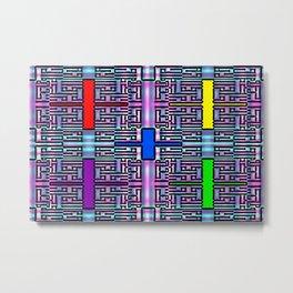 Colorandblack series 811 Metal Print