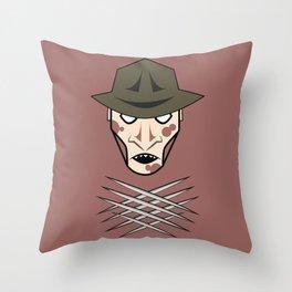 Freddy Head Throw Pillow