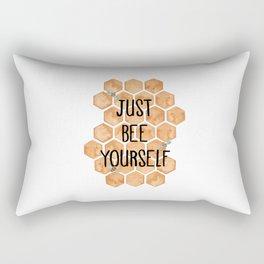 Bee Yourself. Rectangular Pillow