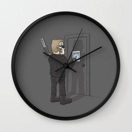 I'll Be Back Wall Clock