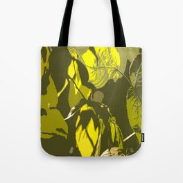 Autumn leaves bathing in sunlight #decor #society6 Tote Bag
