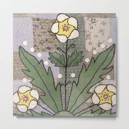 Woodland Flowers 4 Metal Print