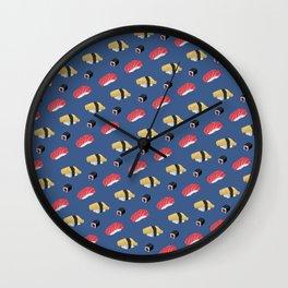 Plenty of Sushi Wall Clock