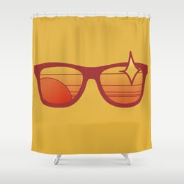 Sungasses Shower Curtain