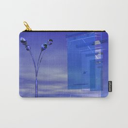 Blue Whenever Carry-All Pouch