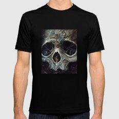 goliath skull Mens Fitted Tee Black MEDIUM