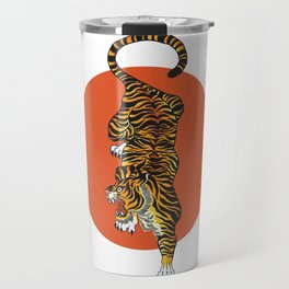 The Traditional Tiger Travel Mug