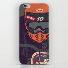 race shit iPhone & iPod Skin