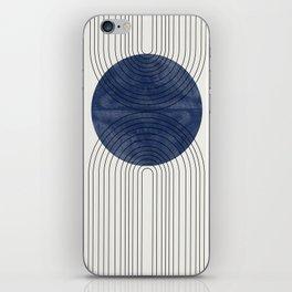 Blue Perfect Balance iPhone Skin
