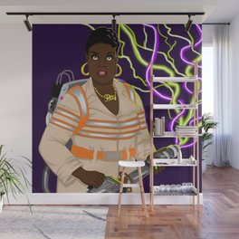 Patty Tolan, Ghostbuster Wall Mural