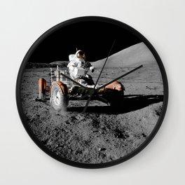 Apollo 17 - Moon Buggy Wall Clock