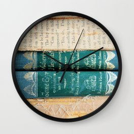 Jane Eyre / Wuthering Heights Wall Clock