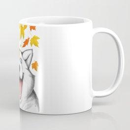 Autumn husky Coffee Mug