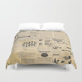 Ladies in the Fifties Duvet Cover